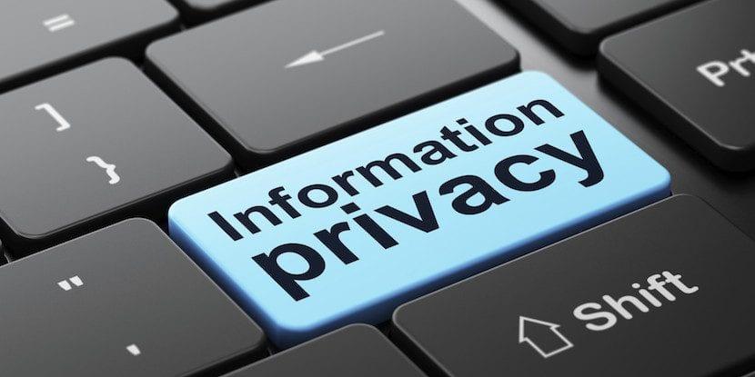 privacidad con siri