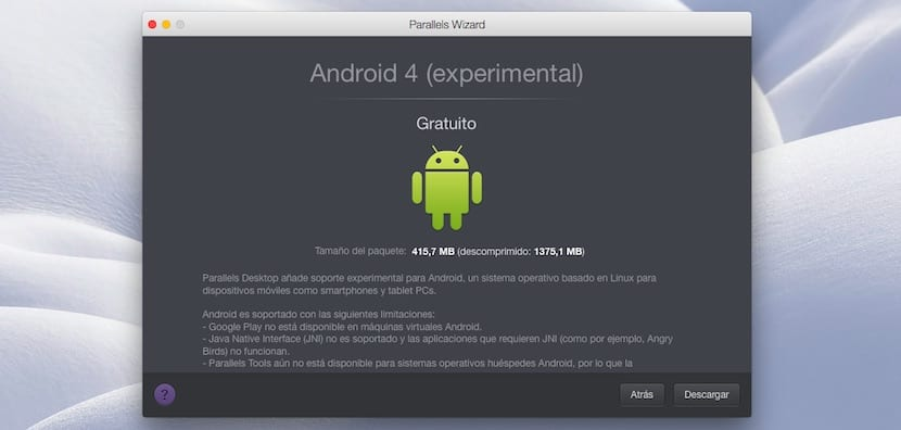 instalar-android-os-x-parallels