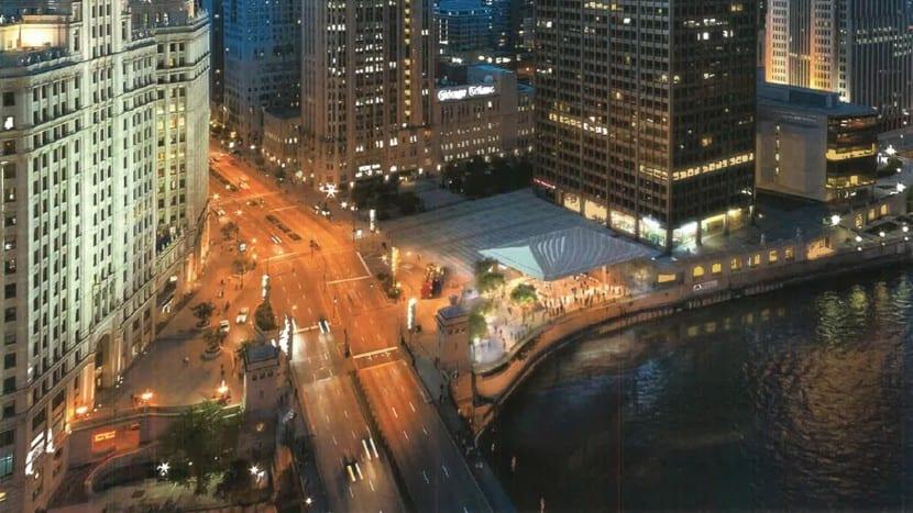 Apple Store Chicago-rio-nuevo diseño-4