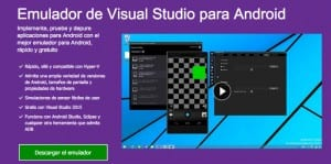 Emulador de Visual Studio para Android Mac