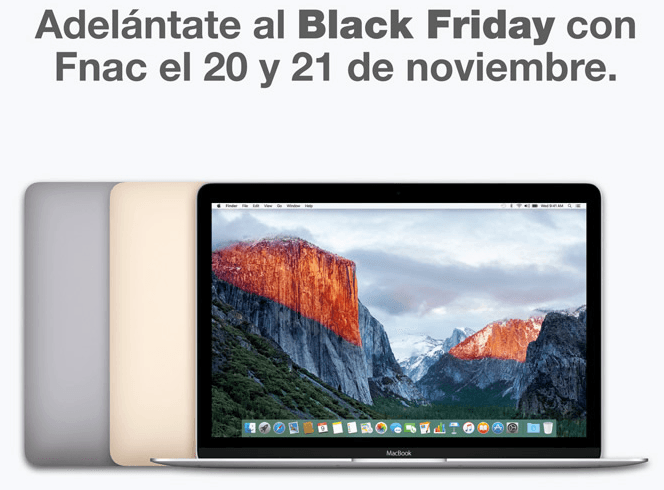 Fnac adelanta Black Friday