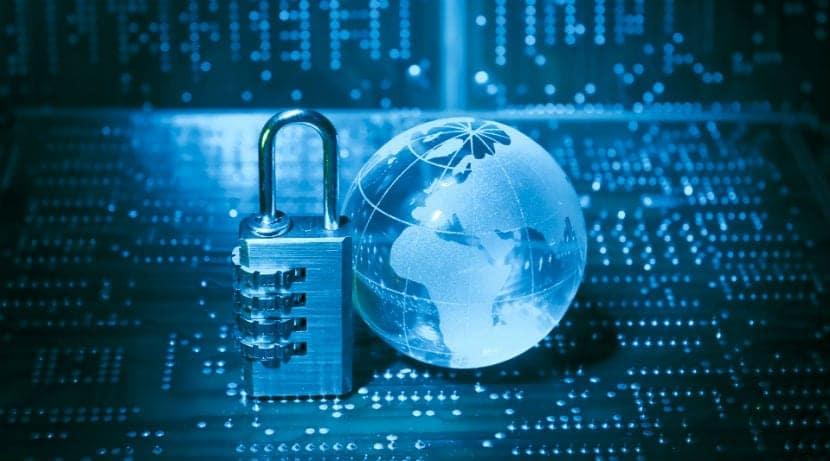 datos candado planeta encriptacion hacker