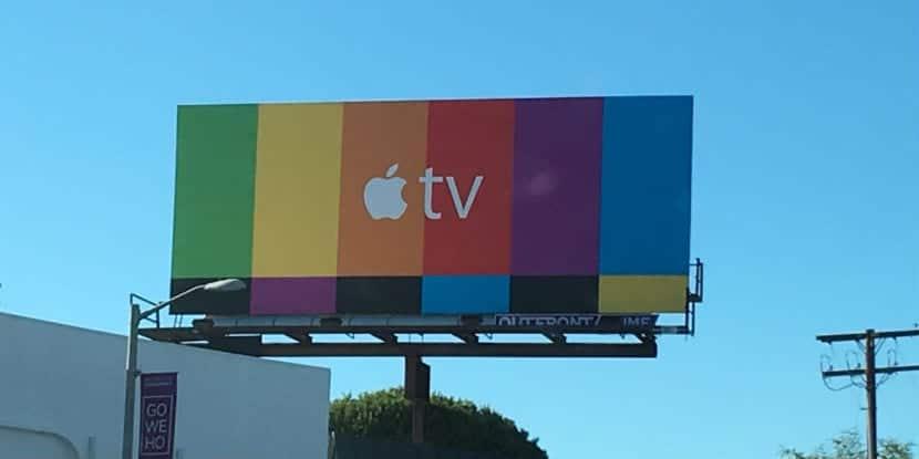 publicidad carteles apple tv