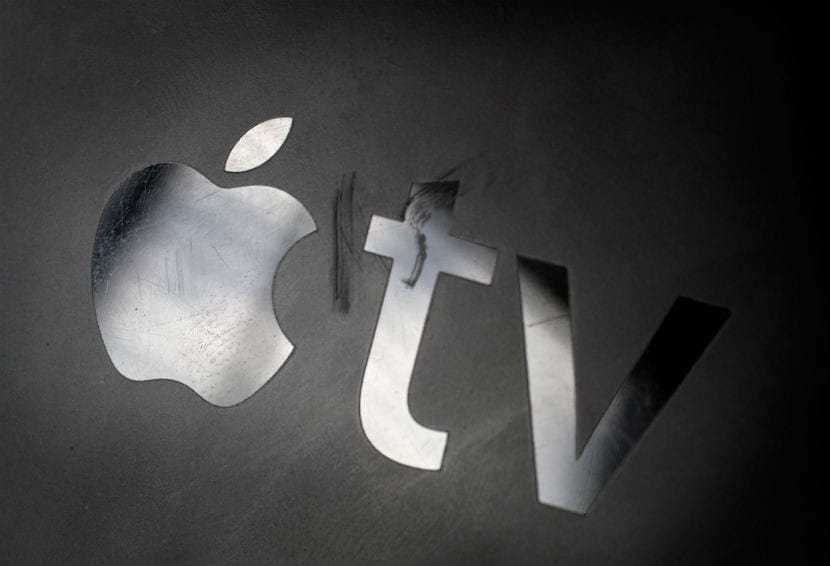 tv logo apple