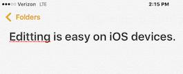 Cómo editar texto en tu iPhone o iPad 1