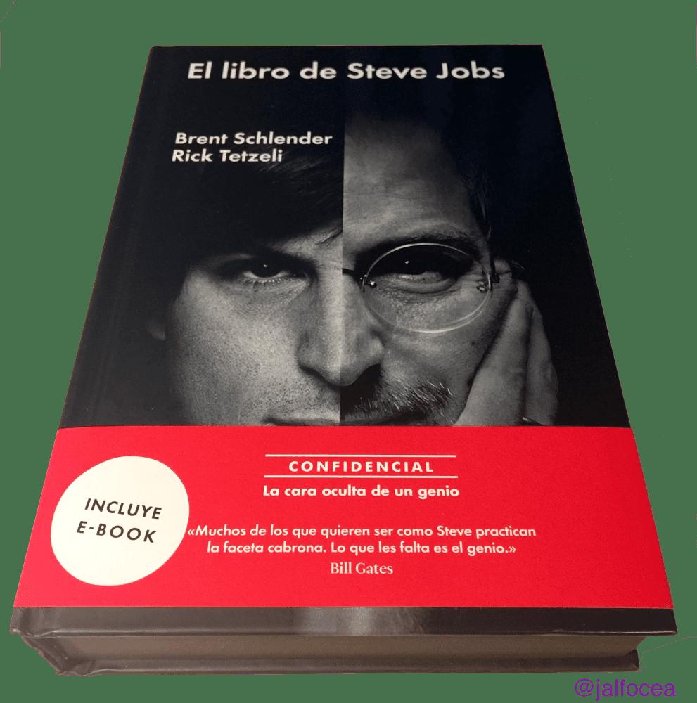 El libro de Steve Jobs | IMAGEN Jose Alfocea @jalfocea