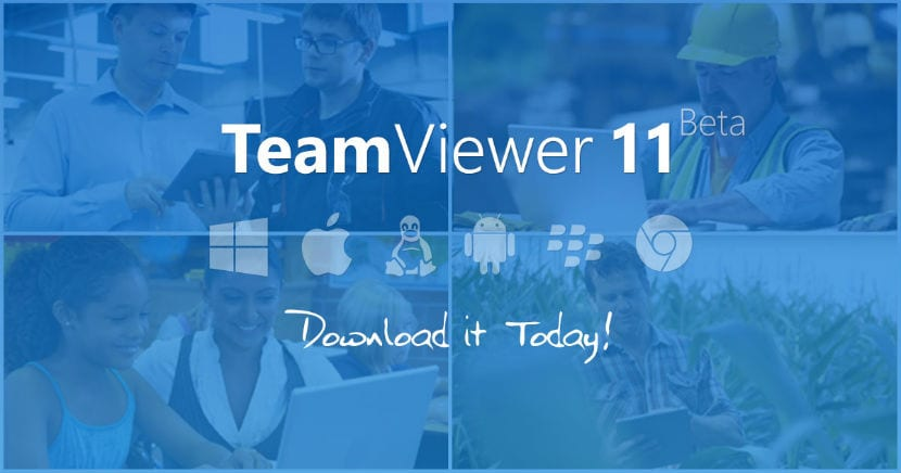 TeamViewer 11 ya está disponible para Mac