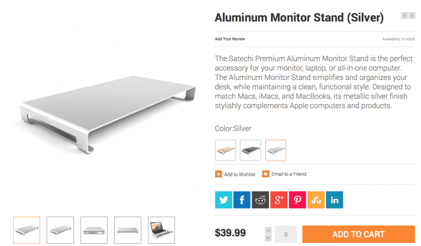 Aluminum monitor stand-satechi-2