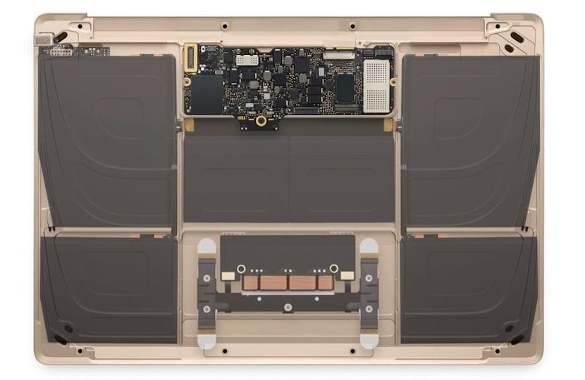 Baterías MacBook 12 pulgadas