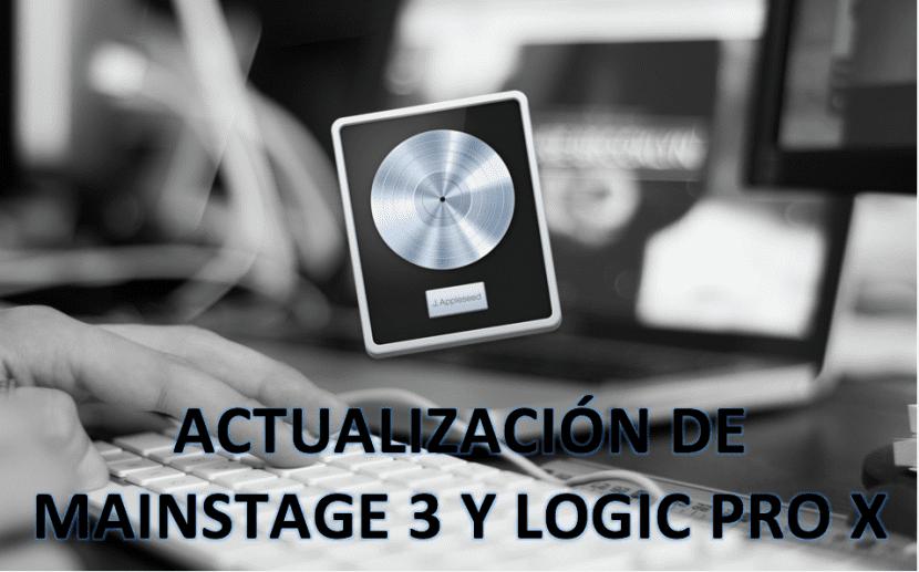 Logic Pro X-Mainstage 3-actualización-0