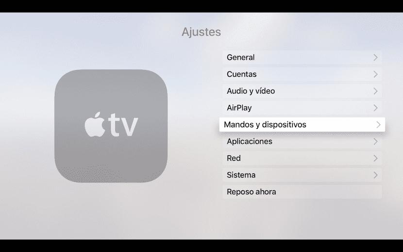 Menú-AppleTV-Mandos-y- dispositivos
