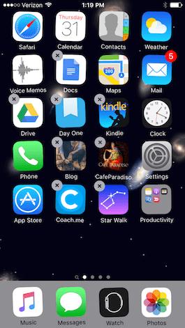 Qué hacer cuando una app de tu iPhone no responde