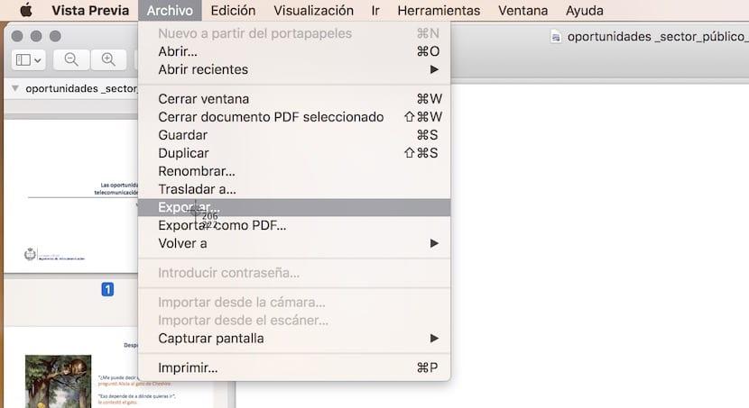 PDF a imagen en OS X
