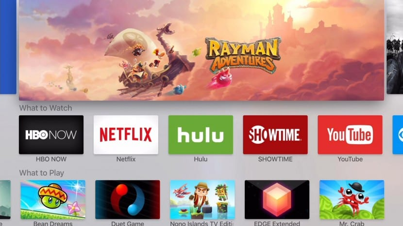 Apple TV categorías-0
