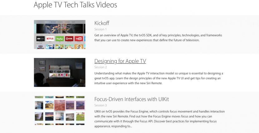 Apple TV-tvOS tech talk-videos-1