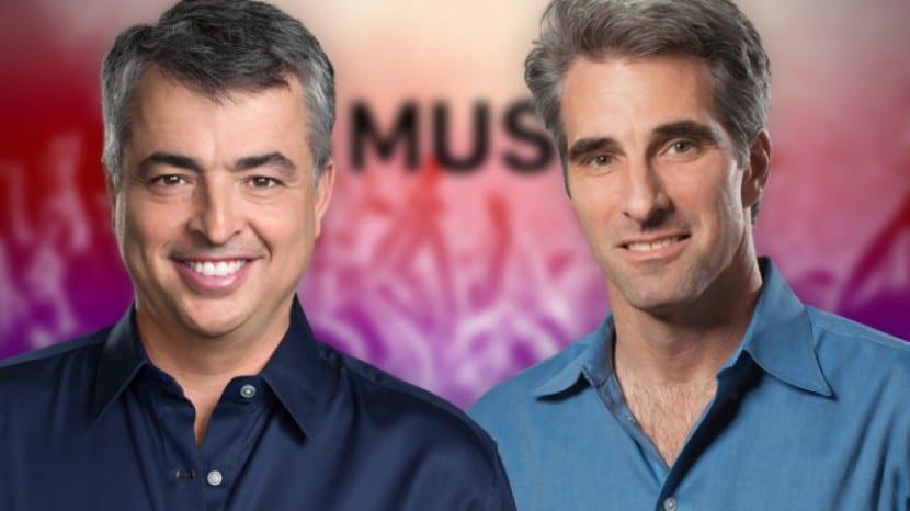 Eddy Cue-Craig Federighi-the talk show-apple music-0