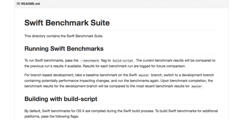 Swift-benchmarking suite-1