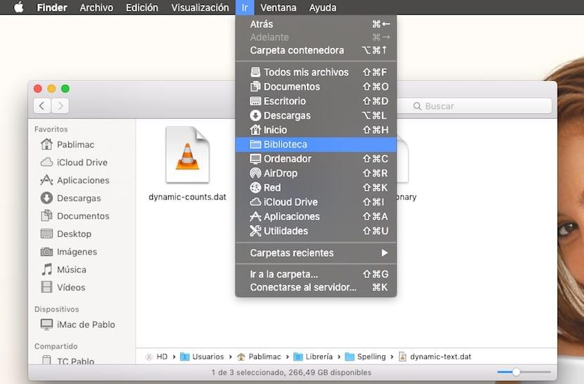 Abrir biblioteca en OS X