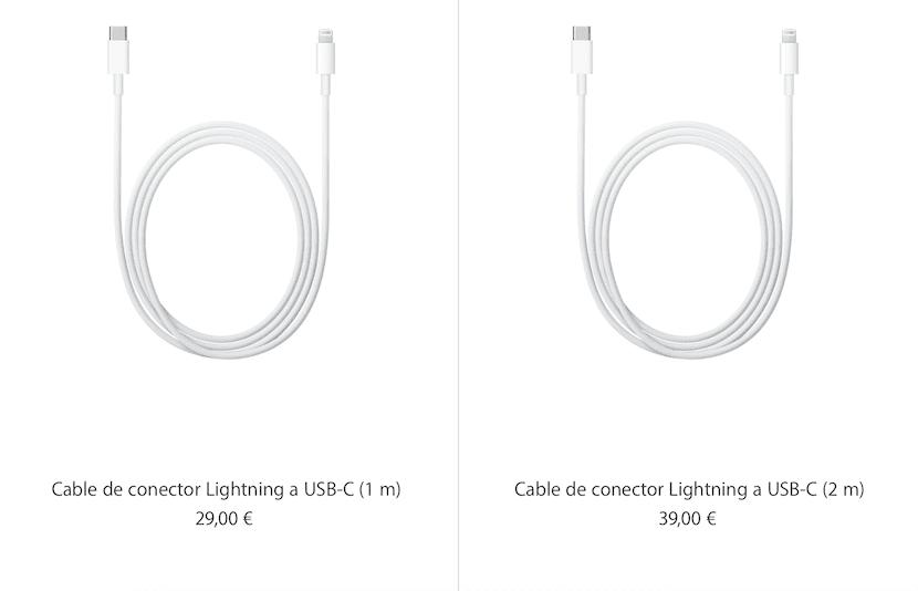 Cables-UASB-C-Ligntning