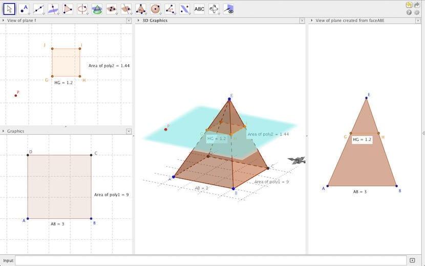 GeoGebra-planos