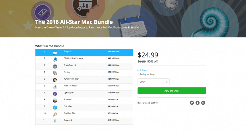 Mac Bundle-All Star 2016-1