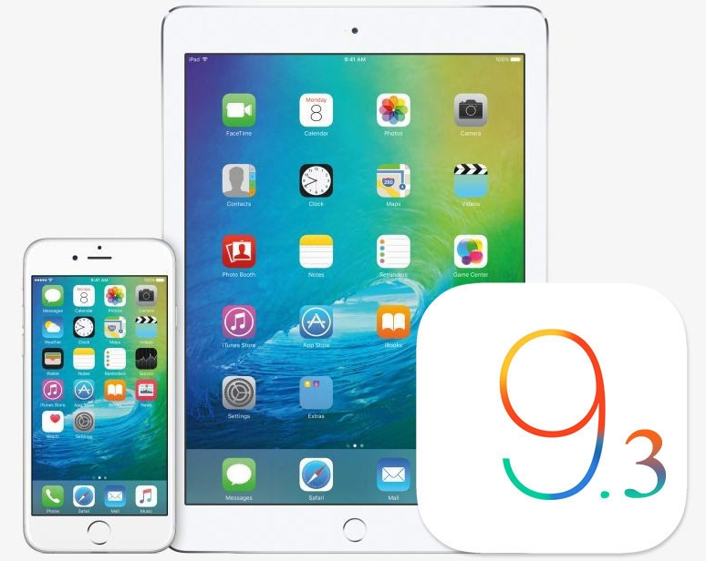 iOS 9.3 Apple