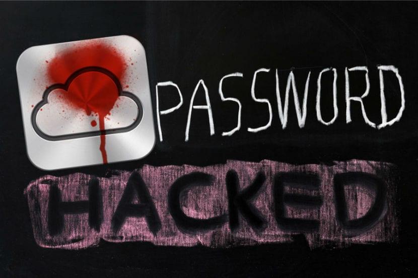 icloud password hacked