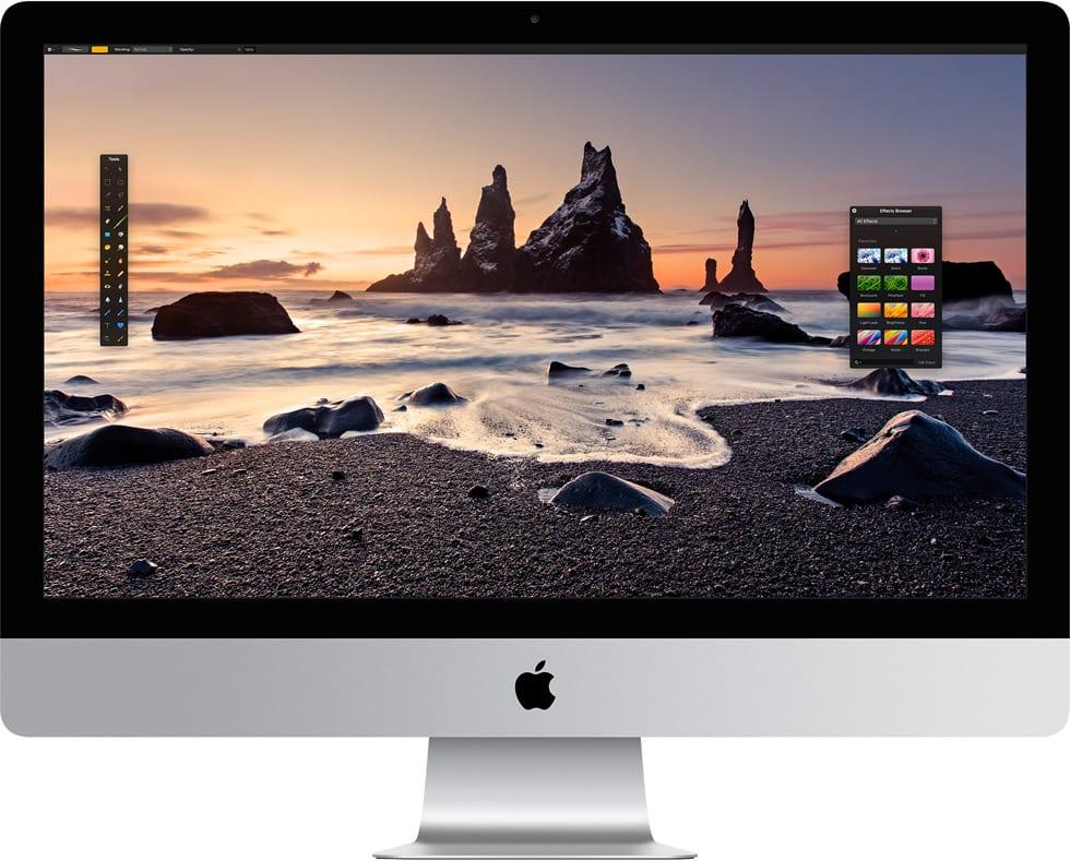 Configurar el Mac para que abra las app en modo de baja resolución