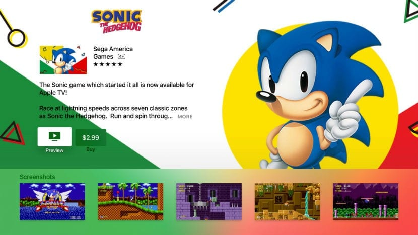sonic apple tv