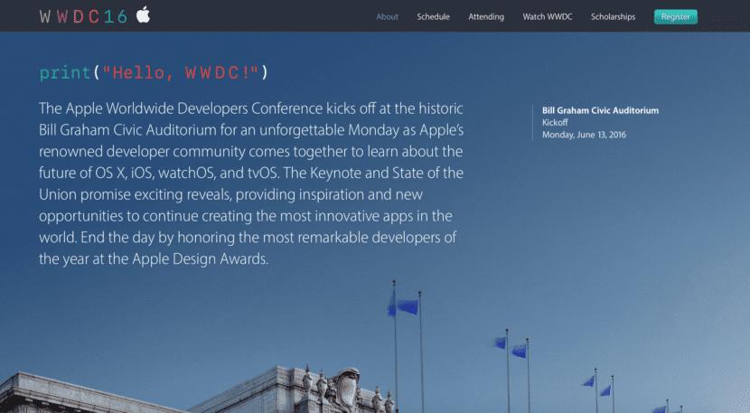 Conferencia-WWDC 2016