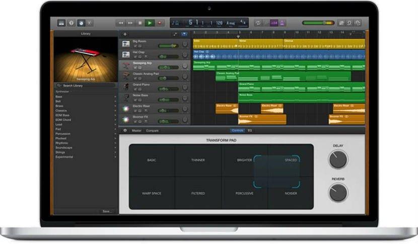 GarageBand para mac