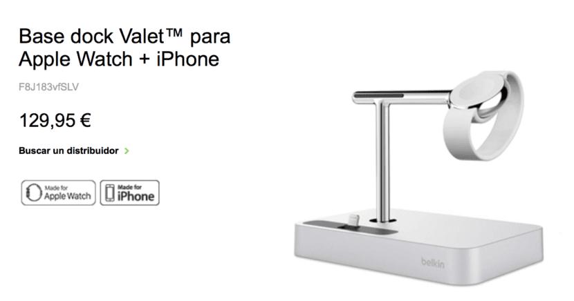 Precio-dock-belkin-Apple-Watch