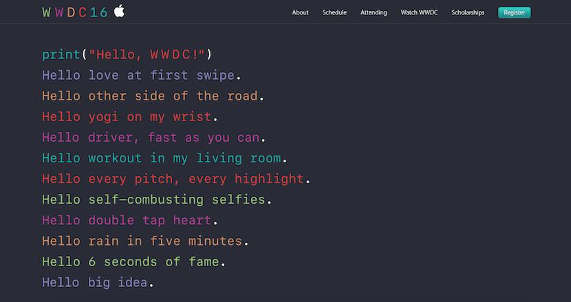 Texto-WWDC-2016