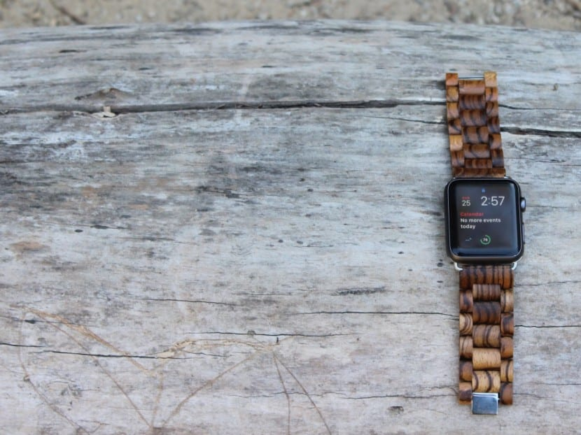 Zebrawood Ottm for Apple Watch