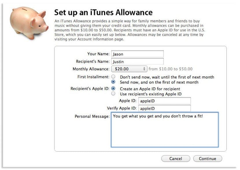 iTunes_Allowance