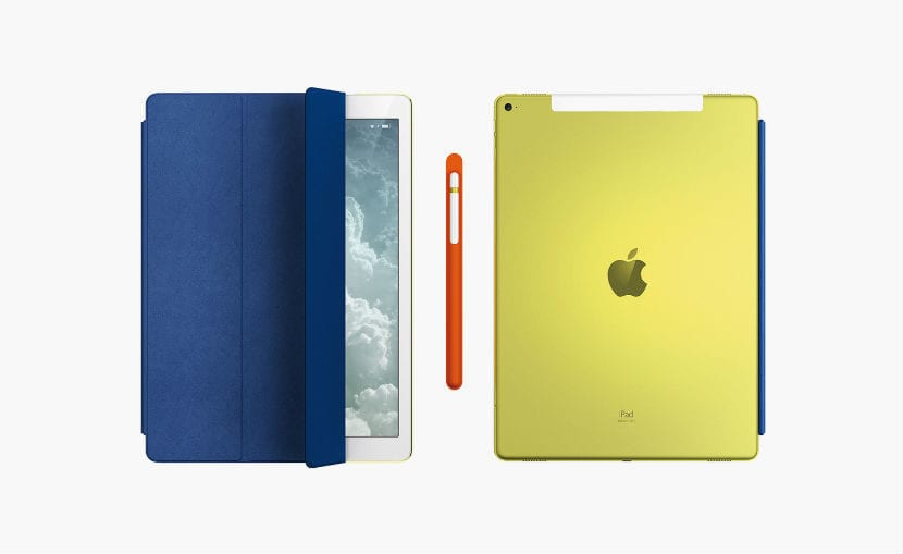 iPad Pro mararillo