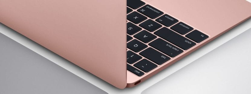 MacBook rosa