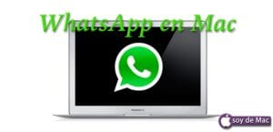 Whatsapp en Mac