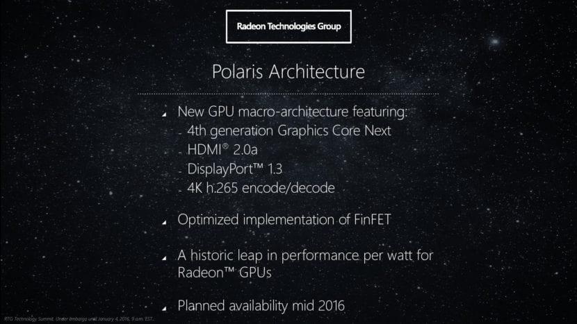 AMD Polaris en Mac