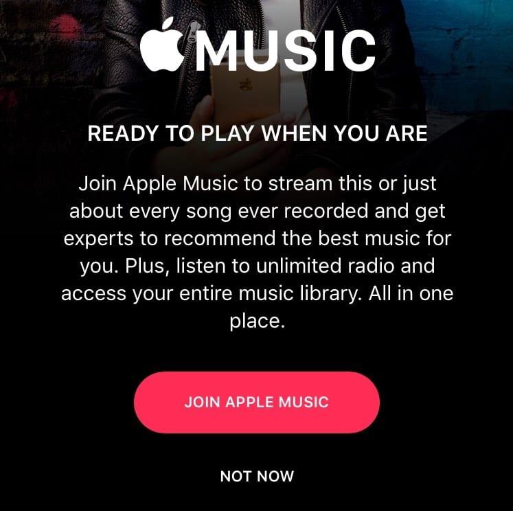Apple Music descuento estudiantes