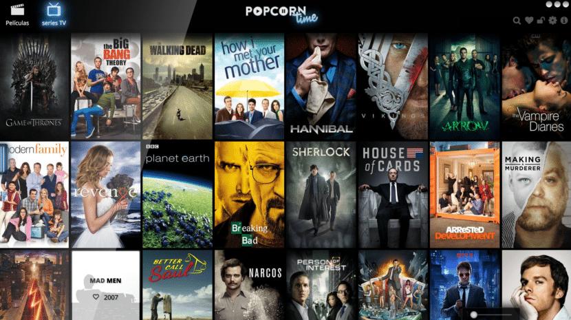 Popcorn Time Portada Serie
