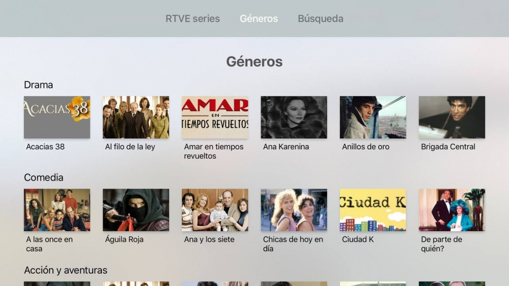 RTVE Apple TV 1