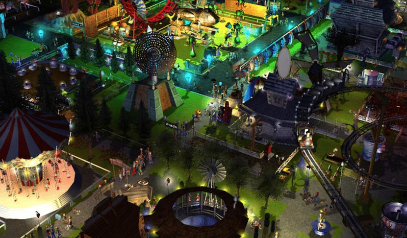 RollerCoaster Tycoon 3 Platinum-escena