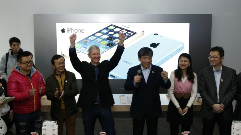 Apple invierte en China