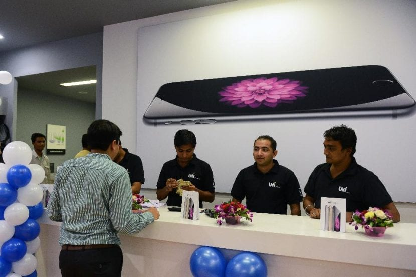 Las ventas de Apple en la India
