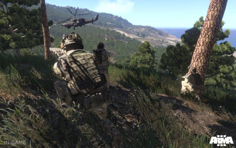 Arma 3 prueba gratis y descuento en Steam