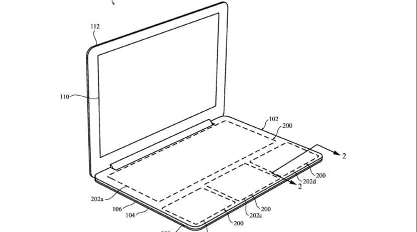 El teclado sin teclas de Apple