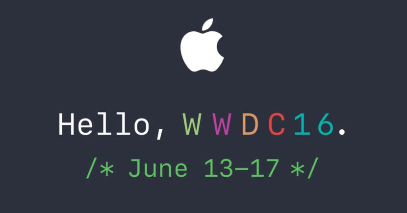 WorldWide Developers Conference 2016