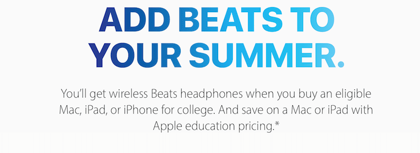 Add Beats to your summer-campaña