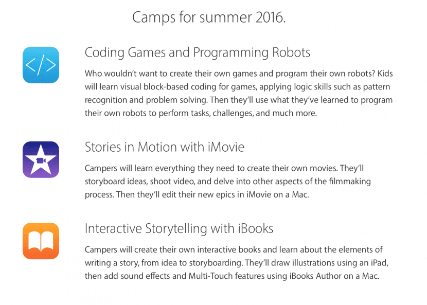 Apple Camp 2016